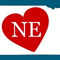 Love Nebraska White by Custom Home Fashions