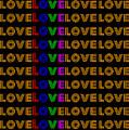 Love Neon 1 by LogCabinCottage