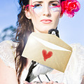 Love Note Delivery From The Heart by Jorgo Photography - Wall Art Gallery