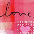 Love Notes- Art By Linda Woods by Linda Woods