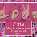 Love One Another by Master's Hand Collection