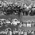 Love Padlocks On The Bridge by Georgia Fowler