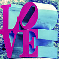 Love Philadelphia Neon Pink by Terry DeLuco