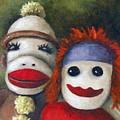 Love Socks by Leah Saulnier The Painting Maniac
