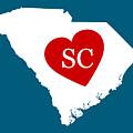 Love South Carolina White by Custom Home Fashions