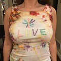 Love Tank Top by Catherine Poag