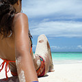 Love The Beach by Ferry Zievinger