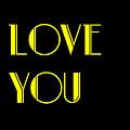 Love You by Jan Keteleer