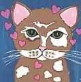 Loveable Cat - Cute Animals by Kathleen Sartoris