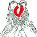 Lovebirds by Kathy Barney
