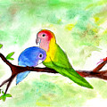 Lovebirds by Lucy Lu