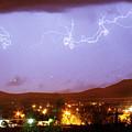 Loveland Colorado Front Range Foothills  Lightning Thunderstorm by James BO Insogna