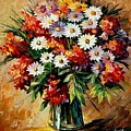 Lovely Bouquet by Leonid Afremov