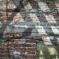 Lovely Garden Wall by Tom Mc Nemar