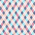 Lovely Geometric Pattern Vi by Amir Faysal