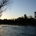 Lovely Light On Mississippi River by Kent Lorentzen