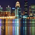 Lovely Louisville Lights by Frozen in Time Fine Art Photography
