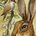 Lovely Rabbits - By Listening To The Song by Svetlana Ledneva-Schukina