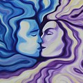 Lovers In Eternal Kiss by Jindra Noewi