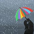 Lovers In The Rain by Samantha Zaltowski