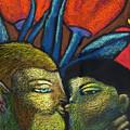 Lovers Kiss by Angelina Marino
