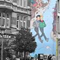 Lovers Mural by Jost Houk