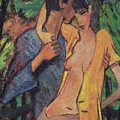 Lovers by Otto Muller
