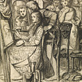 Love's Mirror Or A Parable Of Love by Dante Gabriel Rossetti
