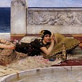 Loves Votaries Lawrence Alma-tadema by Eloisa Mannion