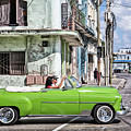 Lovin' Lime Green Chevy by Gigi Ebert