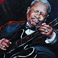 Lovin Lucille B B King by Carole Foret