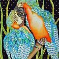 Loving Birds by Gail Zavala