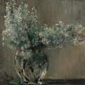 Lovis Corinth Ostpreussen 1858 - 1925 Zandvoort Still Life With White Lilacs. by Lovis Corinth