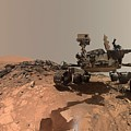 Low-angle Self-portrait Of Nasa's Curiosity Mars Rover by Artistic Rifki