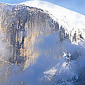 Low Angle View Of A Mountain Covered by Panoramic Images