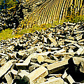 Low Angle View Of Devils Post Pile by Panoramic Images