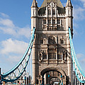 Low Angle View Of Tower Bridge, London by Panoramic Images