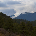 Low Clouds In Ute Pass Colorado by Steve Krull