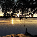 Low Country Sunset by Skip Willits
