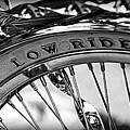 Low Rider In Black And White by Tam Graff