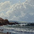 Low Tide, Hetherington's Cove, Grand Manan By Alfred Thompson Bricher by Alfred Thompson Bricher