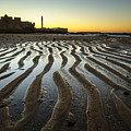 Low Tide On La Caleta Cadiz Spain by Pablo Avanzini
