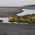 Low Tide On Tybee Island by Elizabeth Eldridge