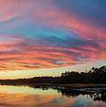 Lowcountry Sunset Charleston Sc by Dustin K Ryan
