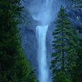 Lower And Middle Yosemite Falls by Raymond Salani III