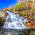 Lower Falls At Graveyard Fields by Don Mercer