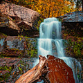 Lower Falls At Kaaterskill by Rick Berk