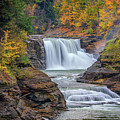 Lower Falls In Autumn by Rick Berk