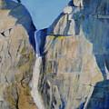Lower Falls, Yosemite by Jackie Carroll