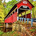 Lower Humbert Covered Bridge 2 by Steve Harrington
